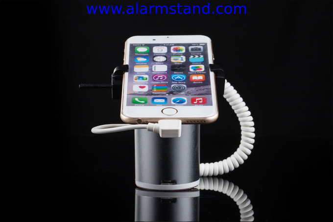 COMER security cable lock alarm anti-theft display stands clip gripper lock holders for cell phone retail stores