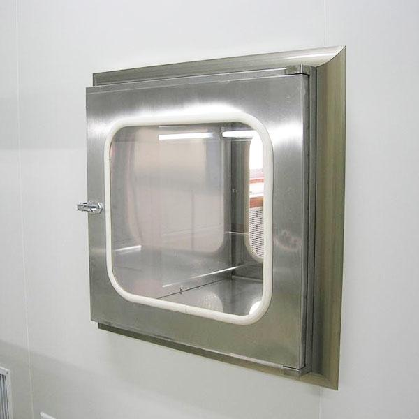 Stainless Steel Pass Box Smooth Wear, Interlock Clean Room Equipment