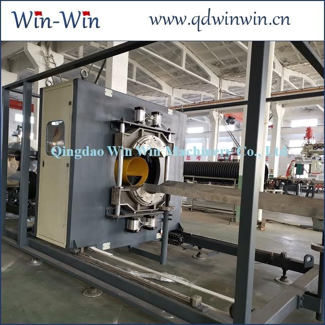 Станок производства двухслойных канализационных гофротруб из ПЭ 200-600мм 3