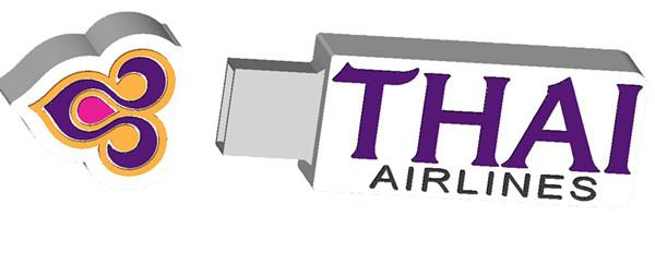 1gb / 2gb / 4gb / 8gb / 16gb / 32gb Thai airline LOGO Customized USB Flash Drive