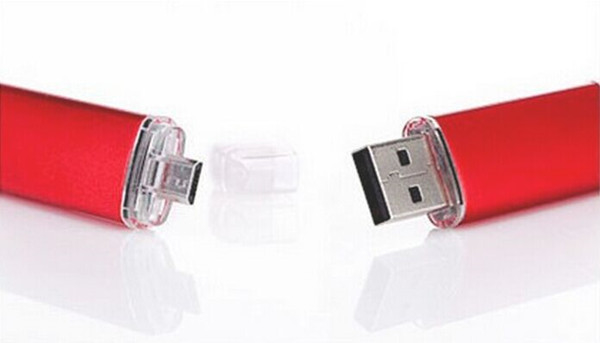 OTG Smartphone USB Flash Drive 4GB, mobile phone usb,cellphone USB Flash Disk