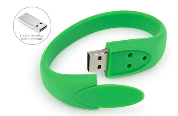 Item Rainbow Colorful Silicon Wristband Bracelet Usb Flash Drive 512MB 1GB
