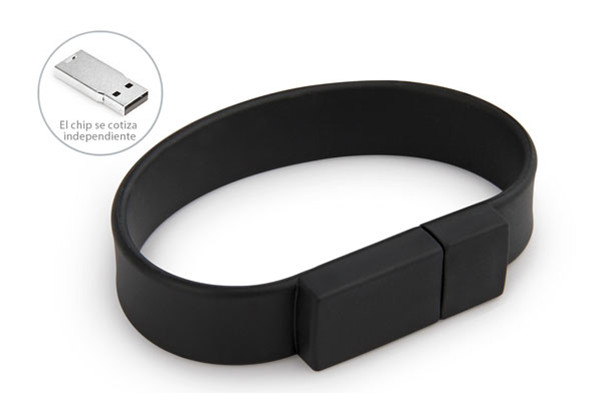 Silicone Bracelet Rubber Band Wristband USB Flash Drive 1 Year Guarante