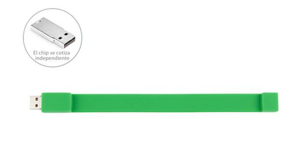 Promotional Gift  Silicone USB Wristband USB Flash Drive 4GB / 8GB