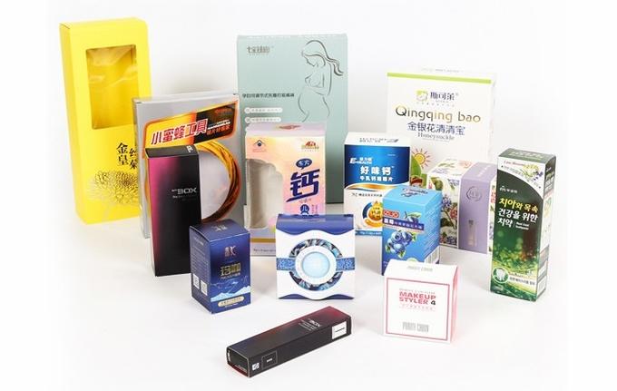 Knickers / Briefs / Underwear Packaging  , Garment Packaging 350gsm C1S Paper Material