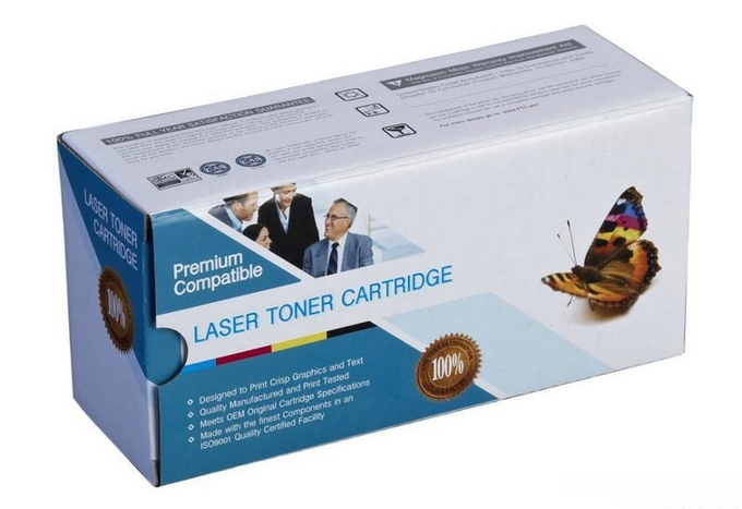 Toner Cartridge Corrugated Cardboard Packaging , Office Stationery Packaging