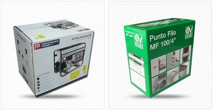 CMYK Printing Custom Paper Box for Piston Set / Hardware Accessories