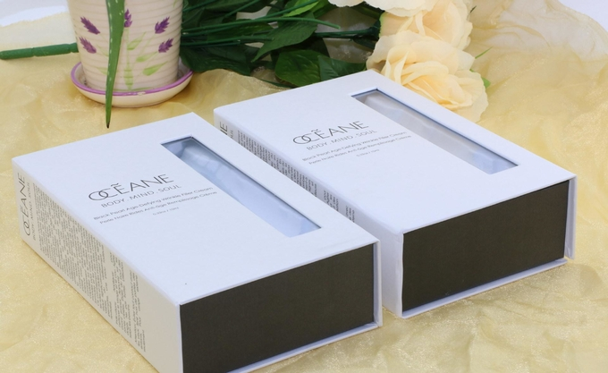 IP Camera Custom Rigid Boxes  , Electronic Product Packaging Boxes