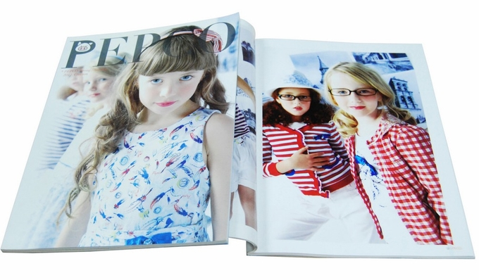 Children Clothing Catalog Printing Services For Garments Promotion