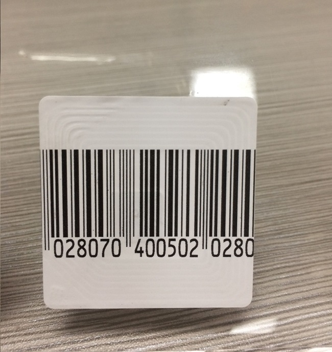 Soft Stick 8.2 MHz Security Labels 40x40mm 30x40mm Dimension AllyTag