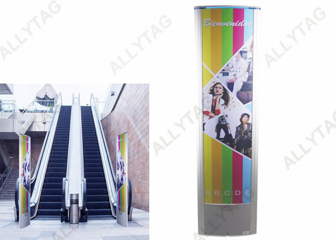Aluminum Alloy EAS AM System Working Temp 0 - 50℃ With Advertisement