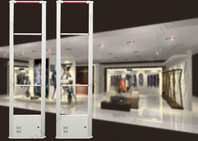 24V DC Input Alarm Gates In Retail Stores , Anti Shoplifting Devices 0 - 50℃ Working Temp