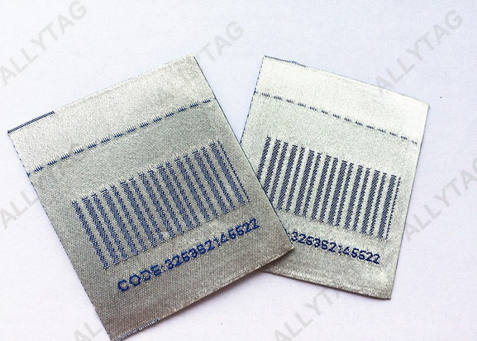 8.2MHz Woven EAS Security Labels Sticker Deactivatable Featuring Small Size
