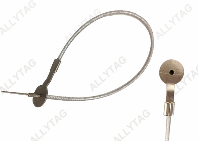 Strong Metal Stainless Steel Hard Tag Pin With Security Price Tag AT-L006