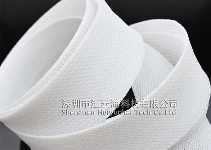 High Flame Resistance PET Expandable Braided Sleeving Cable Protection