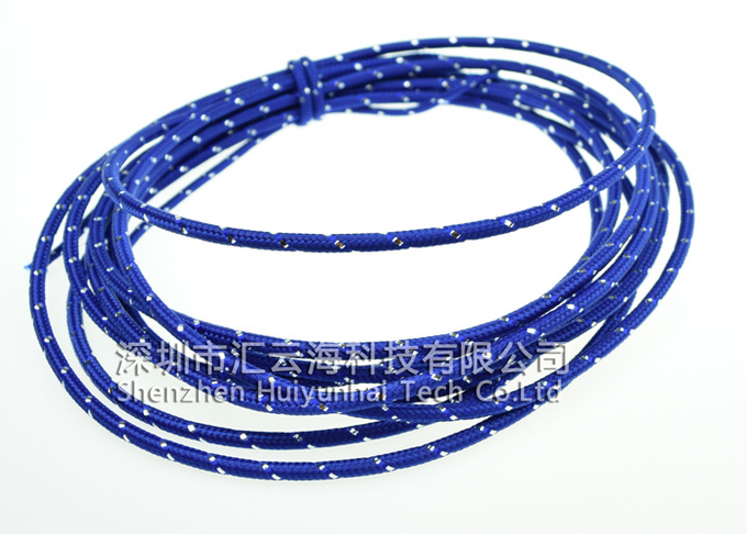 Cable Protection Cotton Braided Sleeving Halogen Free High Density