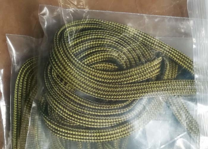 350° C High Temperature Resistant Electrical Braided Sleeving For Auto Cable Protection