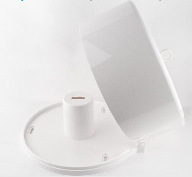 Plastic Jumbo Roll Tissue Dispenser , Mini Jumbo Toilet Roll Dispenser With Lock