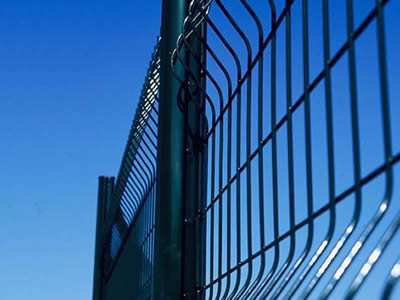 3D Curved Welded Wire Fence-C0002