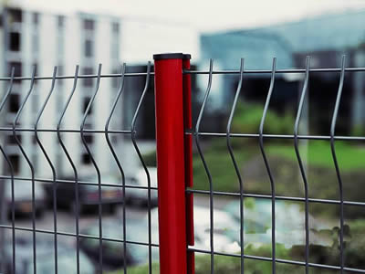 3D Curved Welded Wire Fence-C0003