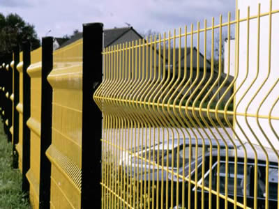 3D Curved Welded Wire Fence-C0004