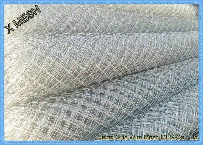 aluminum coated metal chain link fence for details