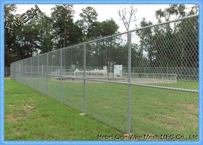 aluminum coated metal chain link fence for farm