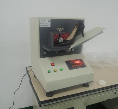 Footwear Testing Equipment Digital Shoes Rigidity Tester 100±10 Mm / Min