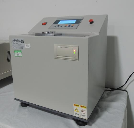 DIN53325, ISO3379 Leather Testing Equipment Digital Leather Cracking Tester