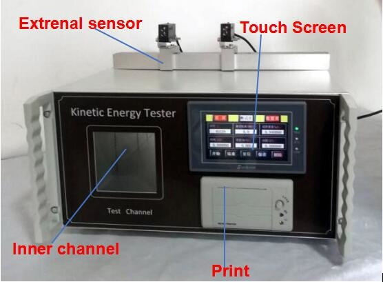 Toys Testing Equipment EN71-1-2011 Touch Screen Kinetic Energy Tester with Printer