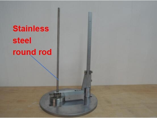 Toys Testing Equipment EN71 -1 Stainless Steel 1kg Toys Safety Impact Tester with Bearing