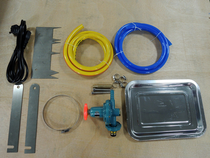 IEC 60332-1-1 1 KW Single Insulated Wire and Cable Vertical Flame Test Equipment