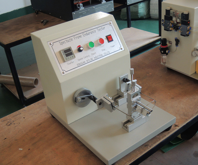Rotating Speed 40 /min Spectacle Frame Tester/ ISO 12870 Spectacle Frame Endurance Tester