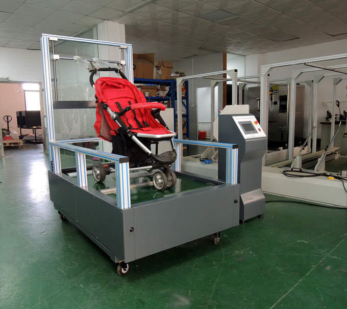 EN1888-2018 Children Products  Irregular Surface Test Equipment for Baby Stroller