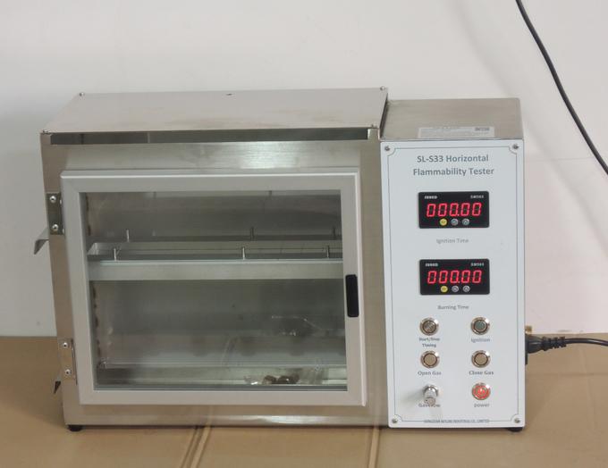 Flammability Testing Equipment  FMVSS 302 Horizontal Flammability Tester