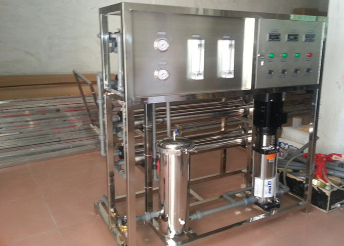 High Capacity Commercial Industrial RO System Mineral Water Treatment Plants