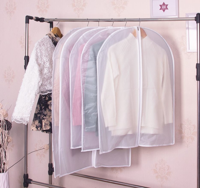 Dust-proof Household Garment Storage Bags Hanging Garment Bag For Suit Dress Storage