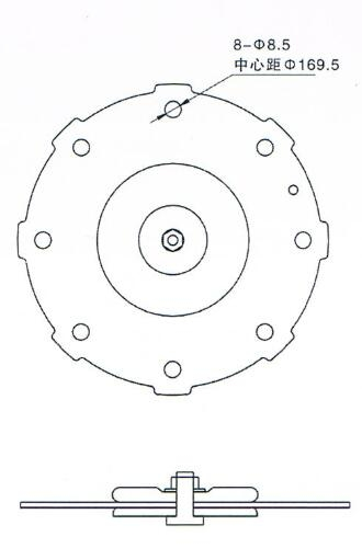 Drawing of Diaphragm