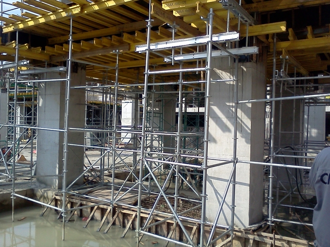 Ring-Lock Scaffolding Table Formwork, Slab Formwork System