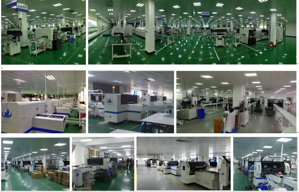 Multi-functional SMT  pick and place machine LED bulb SMT production machine HT-E6T