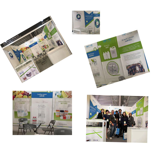 Cooling agent ws-3 exhibition in 2019