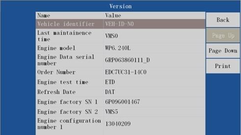 VDSA-HDECU Diesel ECU Flashing Tool function 1
