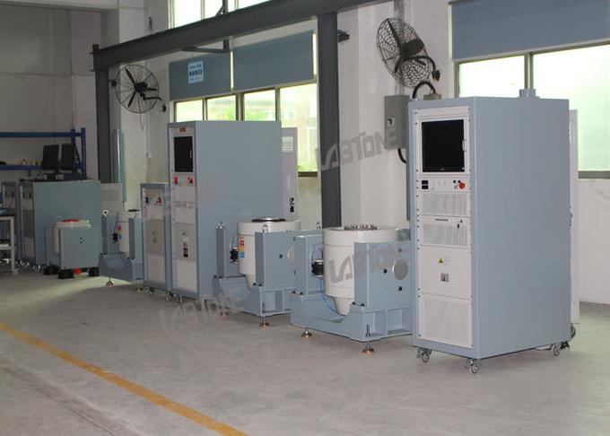 전자 부품 및 배터리 테스트를위한 소형 포스 진동 쉐이커 시스템