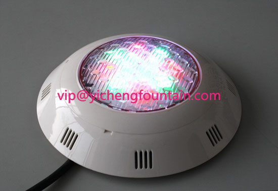 295mm Plastic Swimming Pool Lights 40W For Garden Pond / Swimming Pool IP68 RGB