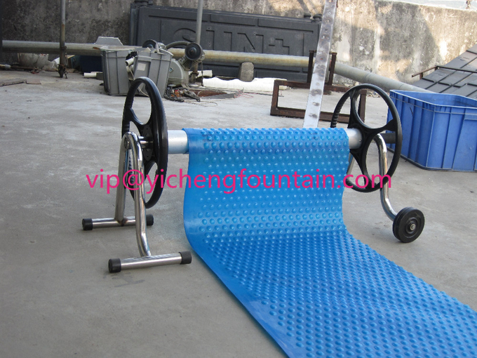 Above Ground Manual Roller Swimming Pool Accessories SS304 / Aluminum Material