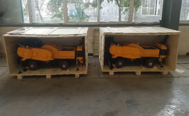 Long Conveying Distance Mortar Cement Grouting Pump