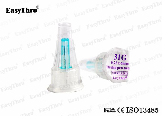 EasyThru Disposable medical Insulin pen needle 31G*6mm 0.25mm for diabetes