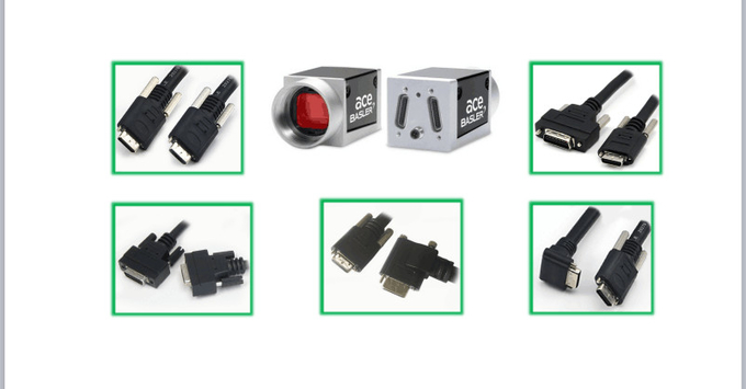 High Speed Camera Link Cable 15 Meters For Long Distance Transmission full mode 85Hz