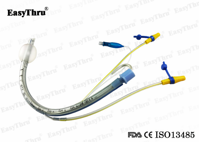 Disposable Suction Lumen Endotracheal tube with Cuff and Balloon