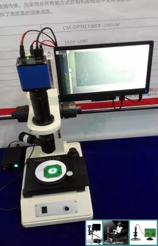 China Mikroskop-Kamera-nicht Kontakt-Entdeckung 1920*1080P intelligente HD Lieferant
